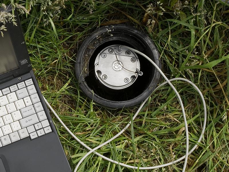 Ground Gas Detector